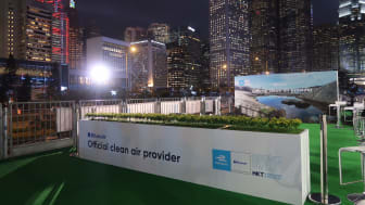 """Blueair discusses new solutions for people """"on-the-go"""" at Formula E in Hong Kong"""