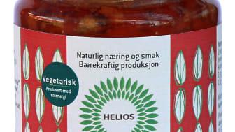 Helios rød pesto piccante økologisk 130 g