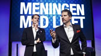 "Alex & Sigge kommer till Lund 21/3 med ""Meningen med livet"""