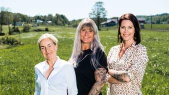 Christine Bjørvik, Mette Nyegaard og Camilla Høisæt har overtatt Crema fra svenske eiere.