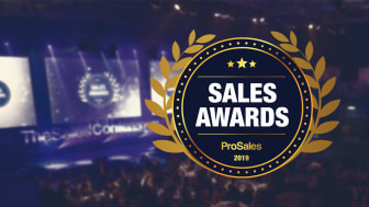 Scrive wins B2B Sales Tool Vendor of the Year
