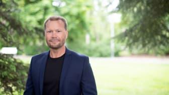 Magnus Johansson, avdelningschef för produktutveckling, produktionsteknik och projektledning i Umeå.