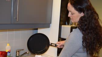 Malin Skaar hos Lilleborg gir gode råd for å bli kvitt fettet.