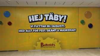 Butterick's öppnar butik i Täby Centrum