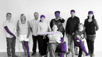 Liverpool stroke survivors star in new exhibition to Make May Purple