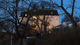 Slottsbyggnaden på Waldemarsudde. Foto: © Yanan Li