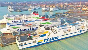 Fraktvolymerna i Skandinaviens största RoRo-hamn nya rekordnivåer under 2020