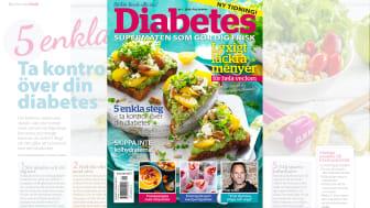 Nytt livsstilsmagasin för diabetiker