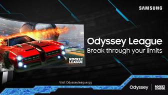 Samsung Odyssey League är tillbaka – nu med Rocket League