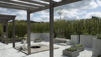 Auktion avslutar årets sommarutställning på Rosendals Trädgård
