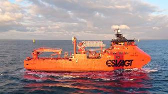 'Esvagt Njord' som servicerer Dudgeon Offshore Wind Farm.