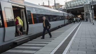Marknad för internationella tågbiljetter växer fram på sikt