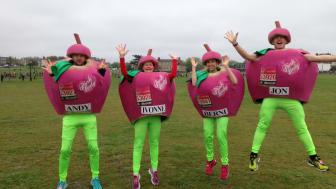 Wakefield stroke survivor completes London Marathon as Pink Lady® apple