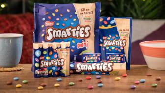 Smarties återvinningsbar förpackning