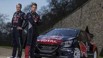Team Peugeot-Hansen satsar fullt ut i rallycross-VM