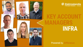 Key Account Managers, Division Infra