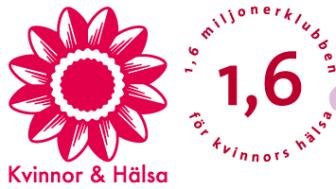 Kvinnohälsoorganisationen 1,6 & 2,6 miljonerklubben och stiftelsen Kvinnor & Hälsa delar ut forskningsstipendier på sammanlagt 250 000 kronor.