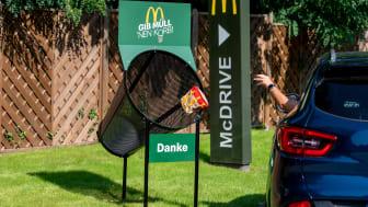 Gib Müll 'nen Korb! McDonald's Deutschland startet Kampagne gegen achtloses Wegwerfen von Verpackungen