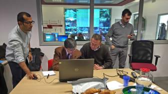 Sebastiaan och de andra forskarna utförde nyligen simuleringar åt transportmyndigheten i Rom.