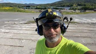 Bahei Osman jobbar främst med projekt i Norge, där han får stor frihet att lägga upp arbetsdagen som han själv vill