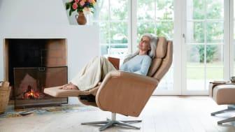 Stressless® lanserer stoler med velvære-funksjoner