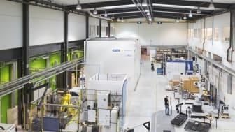 Produktionstekniskt Centrum (PTC) kommer i den första etappen av projektet Springboard att uppgraderas med ny utrustning.
