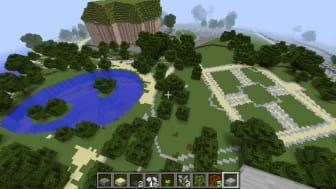Morgondagens Kristianstad byggs i Minecraft