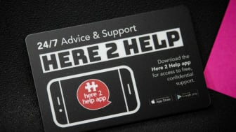 Almost 3000 people download #Here2Help app in one week