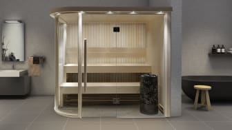 Sauna room: Harmony Round Corner