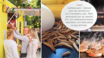 Framtidsforum om matinnovationer den 26 augusti i Skövde