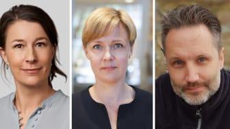 Sara Arvidson, Eva Vitell och Jimmie Widing