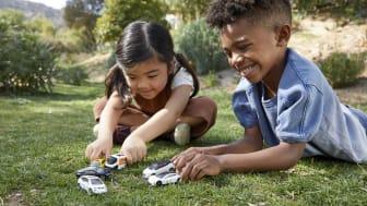 Kinder werden spielerisch in Richtung einer umweltbewussteren Zukunft gelenkt.