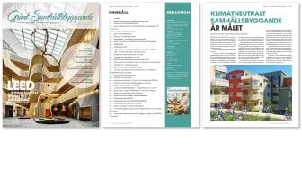 """Stordåhd Kommunikation utökar med en ny tidning - Fokus Certifieringar & Bedömningssystem / Allt i nya tidningen """"Grönt Samhällsbyggande 2022"""""""