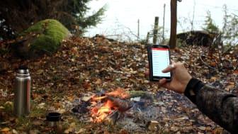 Med Pulsens app har du full kontroll över driftstjänsterna, oavsett var du är. Foto: Emil Andersson
