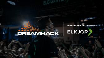 Inngår samarbeid: Dreamhack og Elkjøp blir nå nordiske partnere. Foto: Elkjøp Norge