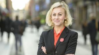 Forza Sweden och Frälsningsarmén delar värderingarna om människans kapacitet att förändra sin situation och vardag, säger Emma Cotterill.
