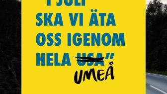 23 svenska destinationer går samman i en unik nationell kampanj för att främja resandet inom Sverige. Foto: SNDMO