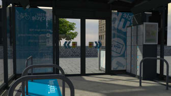 Brand new cycle hub opens
