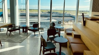 Comfort Hotel Copenhagen Airport Bar with a view4