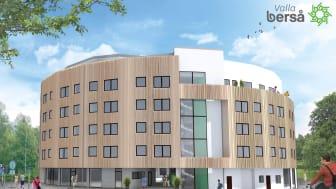 Stor leverans till Linköpings första flerbostadshus i KL-trä