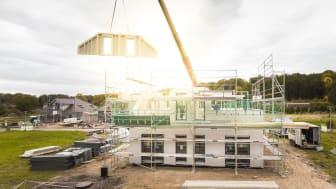 Tidigt engagemang och samarbete är avgörande faktorer för ett lyckat prefabricerat byggprojekt.