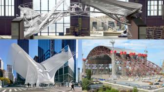 Vad bygger vi med framtidens stål? Film 2: 3D-printad stålbro som samlar data, skydd mot radioaktiv strålning över Tjernobyl samt gränslös och hoppingivande arkitektur.