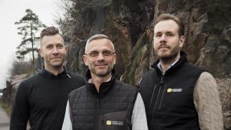 Måns Ungfeldt, Roger Eklund och Christoffer Nyblom blir Beijer Byggmaterials nya regionala operativa chefer i Stockholm.
