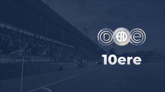 Elitfotboll Dam och 10ere i samarbete för hållbar utveckling av fotbollen