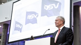 Kurt K. Larsen at the DSV AGM in 2017