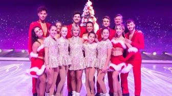 """Die HOLIDAY ON ICE ACADEMY Nachwuchstalente mit Aljona Savchenko, Robin Cousins und den """"Dancing on Ice"""" Trainern bei den Vorbereitungen für die Sat.1 TV-Show """"Dancing on Ice"""""""