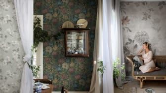 Cottage Garden  - Tapetromantik från den engelska landsbygden