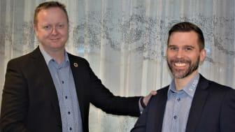 SALTO Systems Jesper Buch och Dennis Postol