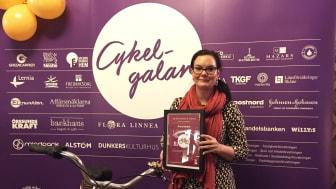 McNeil AB vann Årets nytänk i tävlingen Årets cykelvänligaste arbetsplats