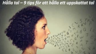 Hålla tal –  Uhrvis ger dig 9 tips för att hålla ett uppskattat tal